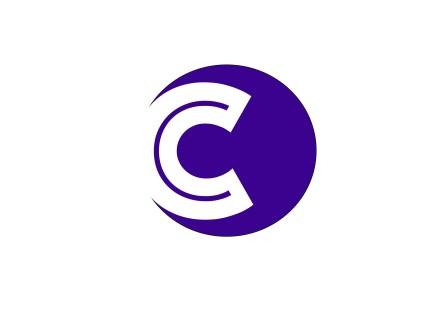 carrie logo purple