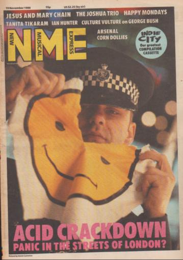 1988 acid crackdown NME