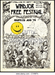 WINDSOR FREE FESTIVAL 1975
